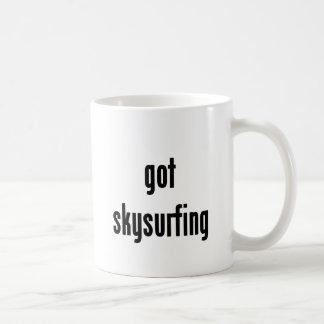 got skysurfing? coffee mug