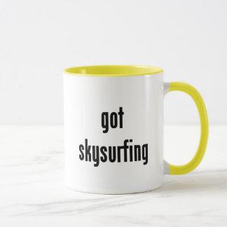 got skysurfing? mug