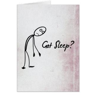 Got Sleep? Cards