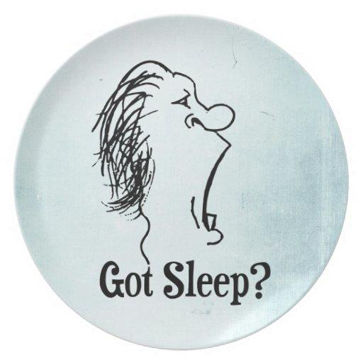 Got Sleep? Plates