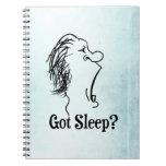 Got Sleep? Spiral Notebooks