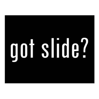 got slide? postcard
