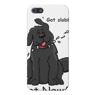 Got Slobber Got Newf! Cover For iPhone SE/5/5s