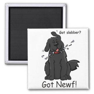 Got Slobber - Got Newf! Refrigerator Magnet