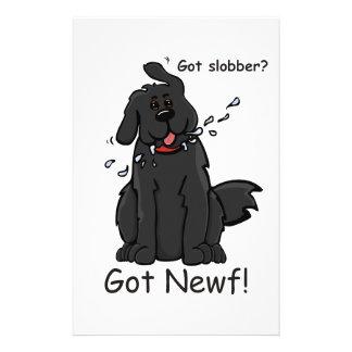 Got Slobber - Got Newf! Stationery