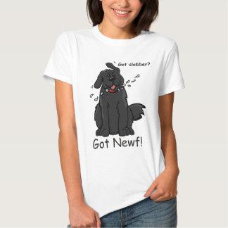 Got Slobber - Got Newf! T Shirt