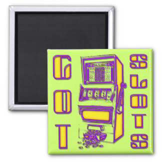 Got Slots 2 Inch Square Magnet