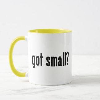 got small? mug
