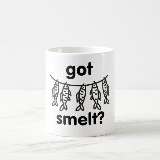 got smelt classic white coffee mug
