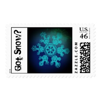 Got Snow? 10 Stamp stamp