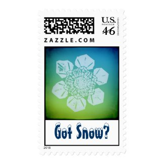 Got Snow? 5 Stamp stamp