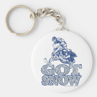 Got-Snow-Distressed-GreyBlu Keychain