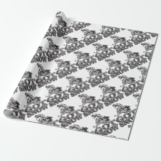 Got Snow Snowmobiler Wrapping Paper
