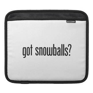 got snowballs sleeves for iPads