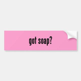 got soap? bumper sticker
