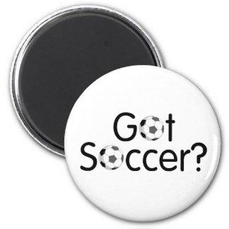 Got Soccer 2 Inch Round Magnet