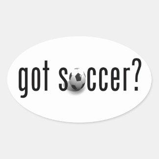 got soccer? oval sticker