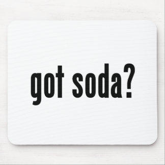 got soda? mouse pad
