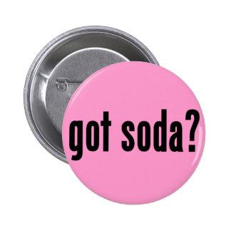 got soda? pinback button