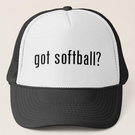got softball? trucker hat