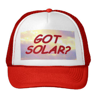 GOT SOLAR? hat