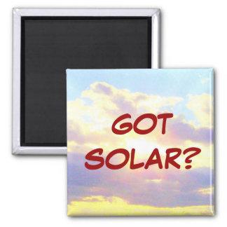 GOT SOLAR? magnet