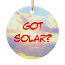 Got Solar ornament