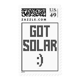 Got Solar - Stamp
