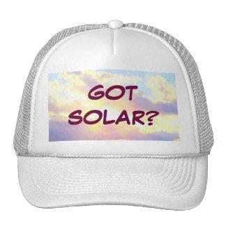 GOT SOLAR? template hat