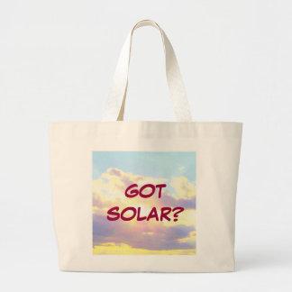 GOT SOLAR? tote bag