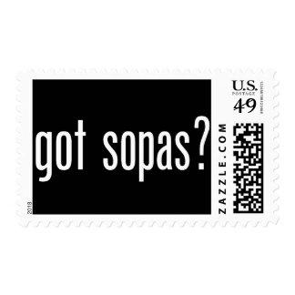 got sopas? stamps