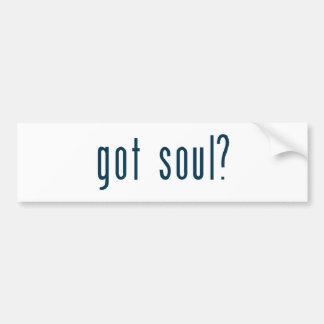 got soul bumper sticker