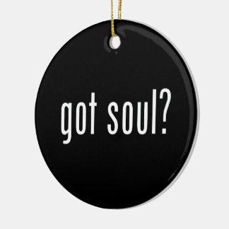 got soul? ceramic ornament