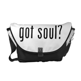 got soul? messenger bag