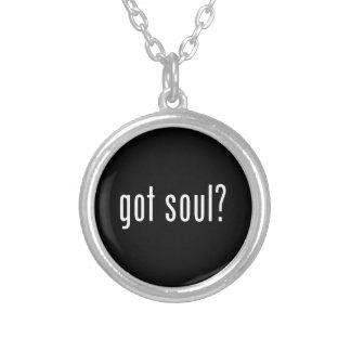 got soul? round pendant necklace
