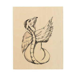 Got Soul To Fly Wood Print