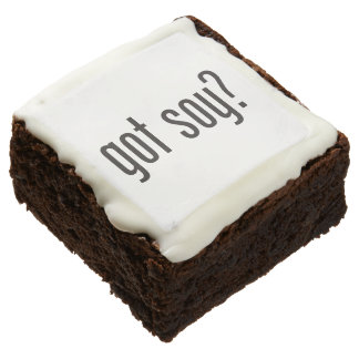 got soy square brownie