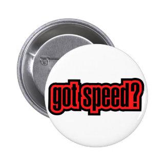 Got Speed? Pinback Button