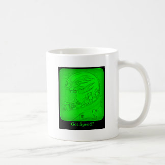 Got Speed? Green Coffee Mug