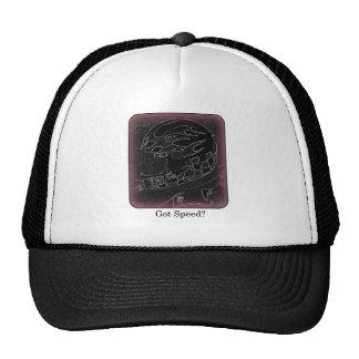 Got Speed? Inverted Color Trucker Hat