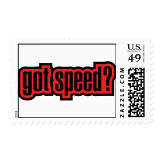 Got Speed? Postage