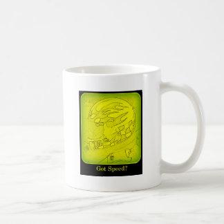 Got Speed? Yellow Coffee Mug