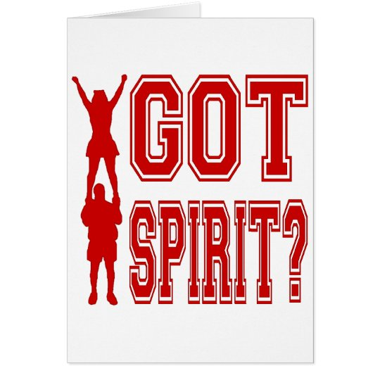 GOT SPIRIT CARD