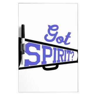 Got Spirit? Dry Erase Board
