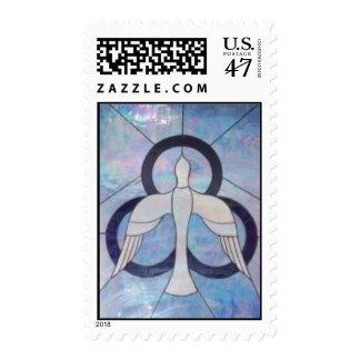 """""""Got Spirit ?"""" Postage Stamp"""