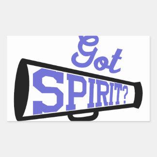 Got Spirit? Rectangular Sticker