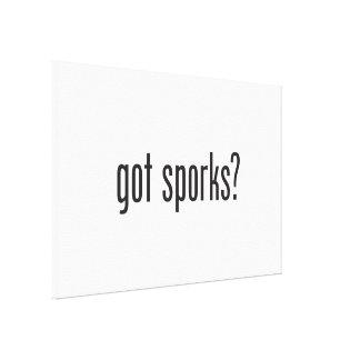 got sporks gallery wrapped canvas