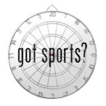 got sports? dartboards