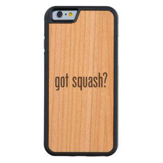 got squash carved® cherry iPhone 6 bumper case