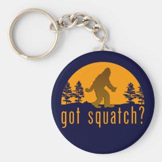 Got Squatch? Basic Round Button Keychain